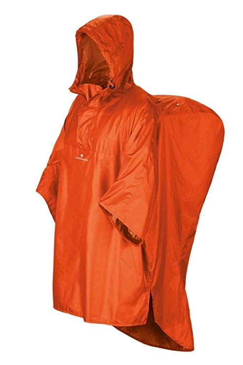 HIKER RAINCOAT TG. S/M ARANCIO